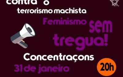 Queremos nos sentir livres da violência machista