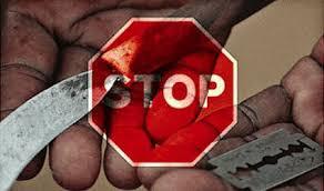 Não à mutilação genital feminina