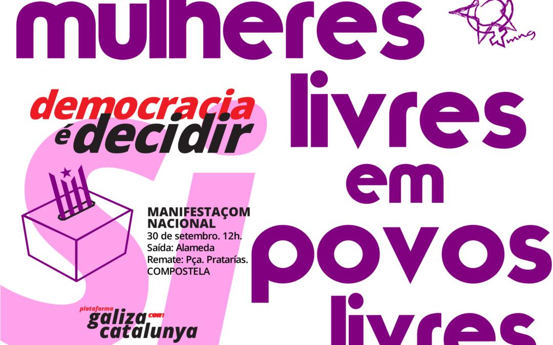 Pola a independência e a liberdade da Catalunha!